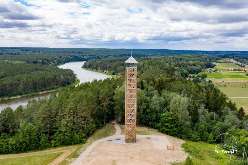 Birštono apžvalgos bokštas – aukščiausias Lietuvoje - 6