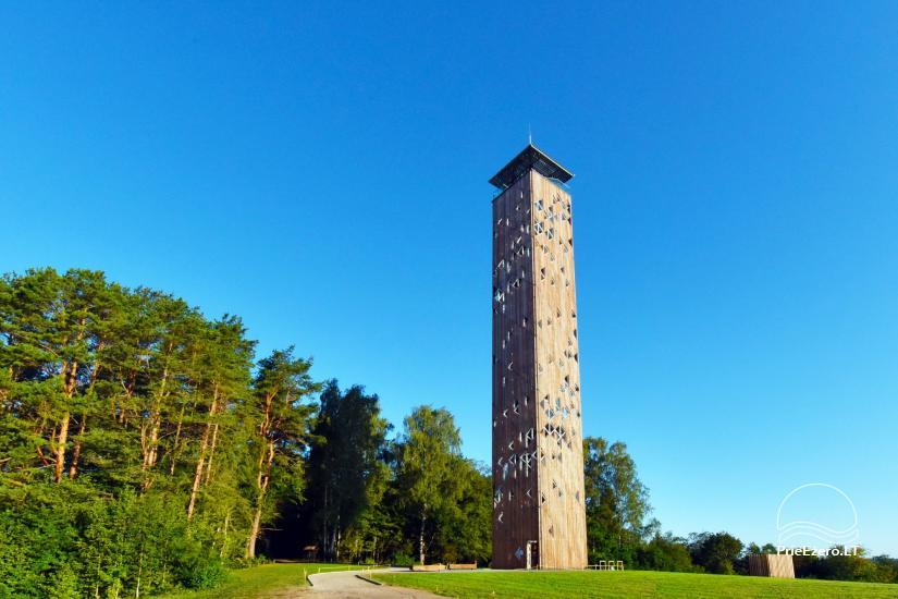 Birštono apžvalgos bokštas – aukščiausias Lietuvoje - 4