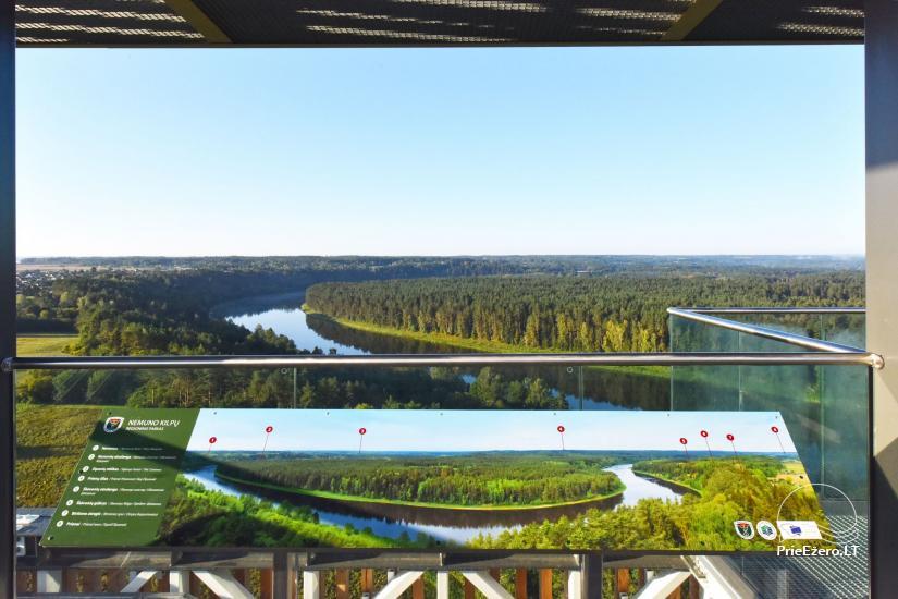 Birštono apžvalgos bokštas – aukščiausias Lietuvoje - 16