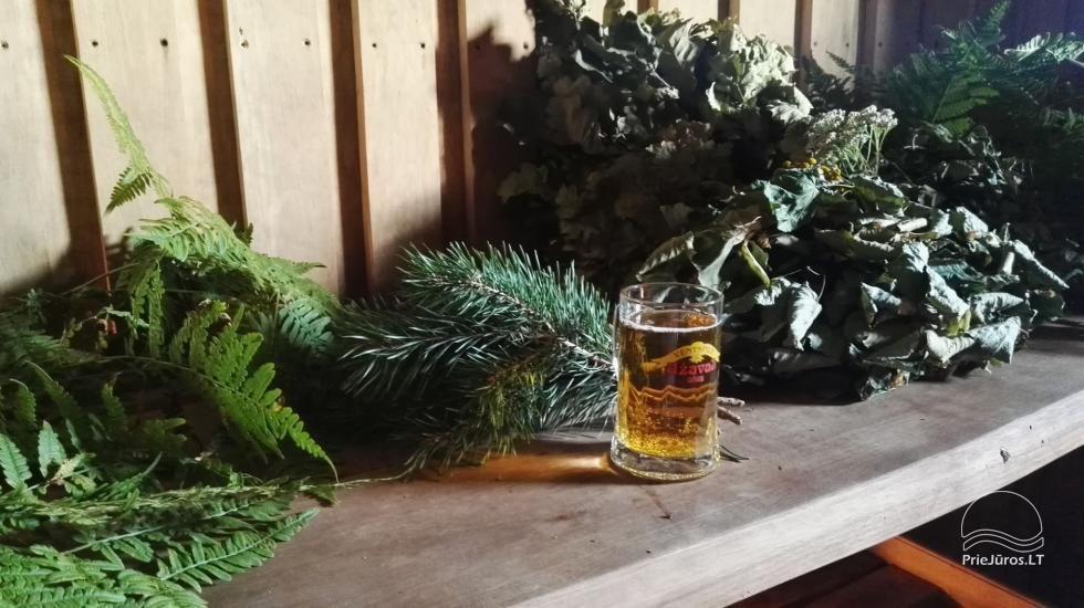 """Pirtis ritualai, SPA poilsis Jūrkalnėje, Ventspilio rajone """"Forest SPA & Apartments"""" - 7"""