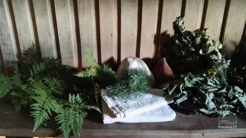 """Pirtis ritualai, SPA poilsis Jūrkalnėje, Ventspilio rajone """"Forest SPA & Apartments"""" - 8"""
