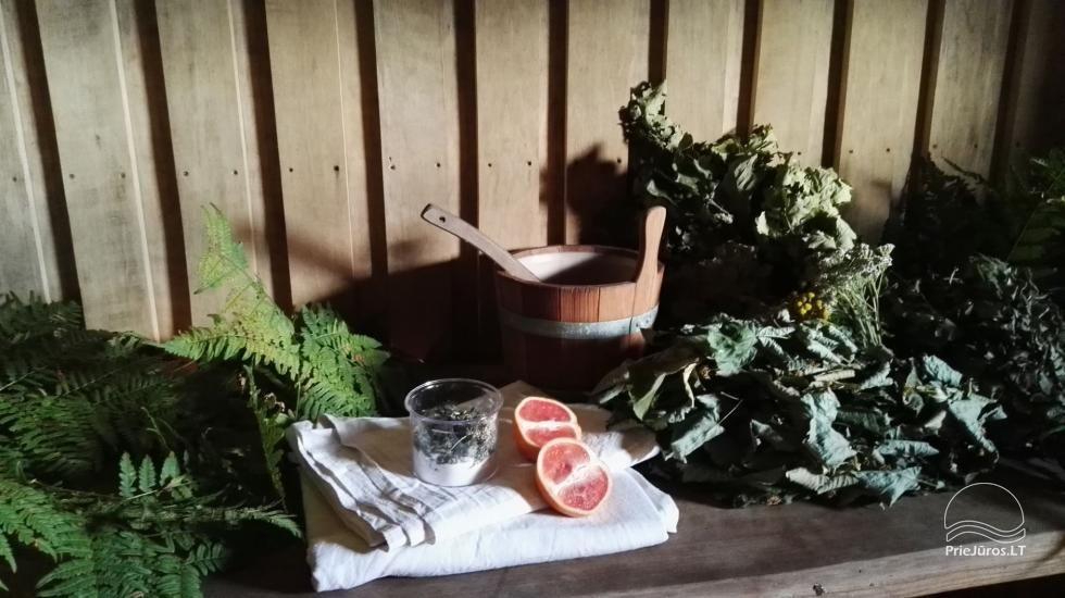 """Pirtis ritualai, SPA poilsis Jūrkalnėje, Ventspilio rajone """"Forest SPA & Apartments"""" - 9"""