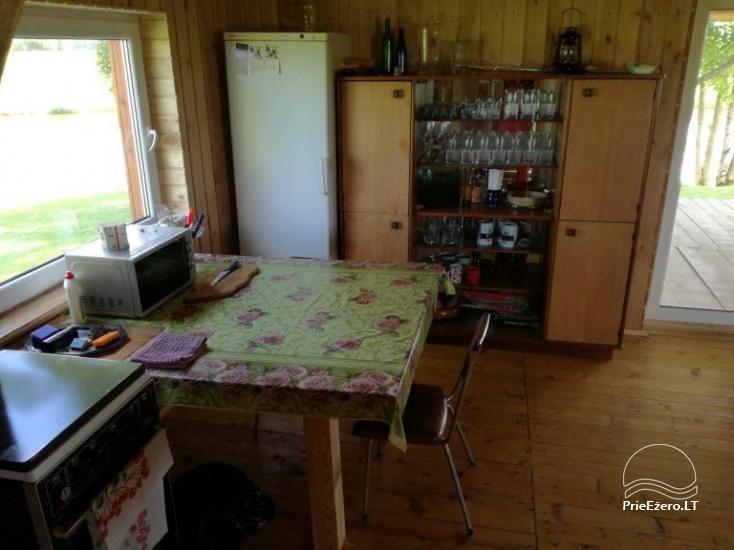 Sodyba - stovyklavietė Jurbarko rajone Raudonės Fazenda su pirtimi - 19