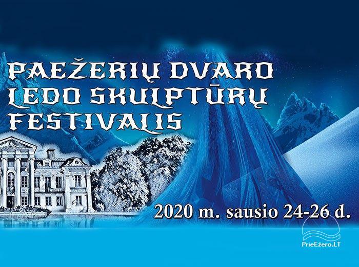 """Paežerių dvaro ledo skulptūrų festivalis """"Pasakų miškas"""" - 1"""