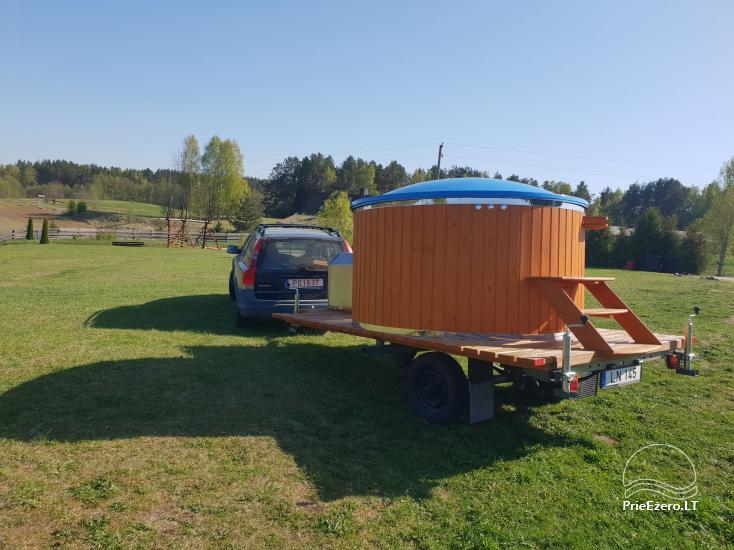 Mobilūs kubilai su masažinėmis oro ir vandens sistemomis - 5