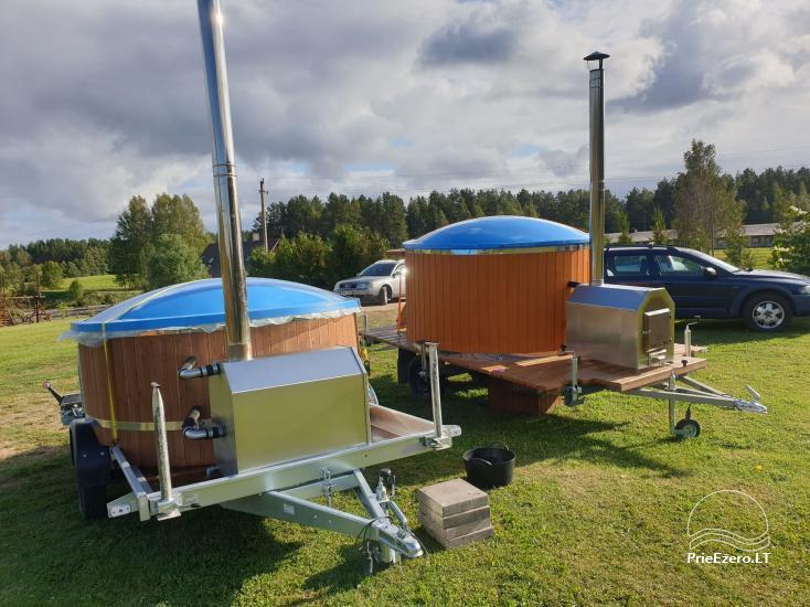 Mobilūs kubilai su masažinėmis oro ir vandens sistemomis - 6
