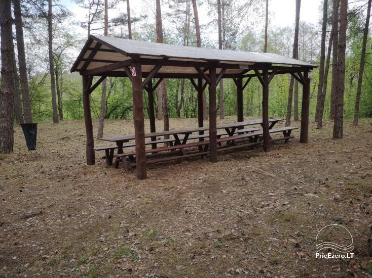 Stovyklavietės nuoma prie Baltosios Ančios upės kranto - 4