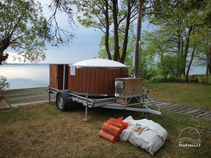 Stovyklavietės nuoma prie Baltosios Ančios upės kranto - 13