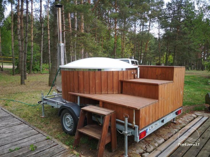 Stovyklavietės nuoma prie Baltosios Ančios upės kranto - 14