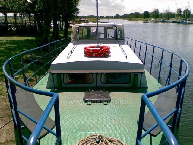 24 vietų laivas Minija - žvejybai ir kitoms pramogoms