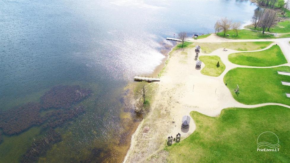 Paplūdimys Joniškyje (Molėtų rajonas), Arino ežero pakrantėje - 4