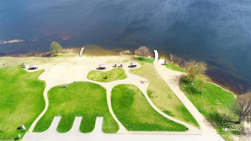 Paplūdimys Joniškyje (Molėtų rajonas), Arino ežero pakrantėje - 1