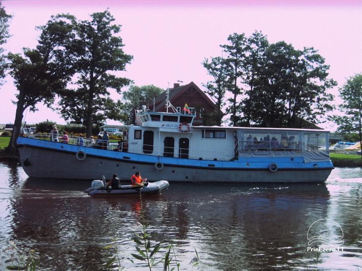 """Sodyba """"Kintų pakrantė"""". Ekskursijos laivu, namelių nuoma, pirtis, - 1"""