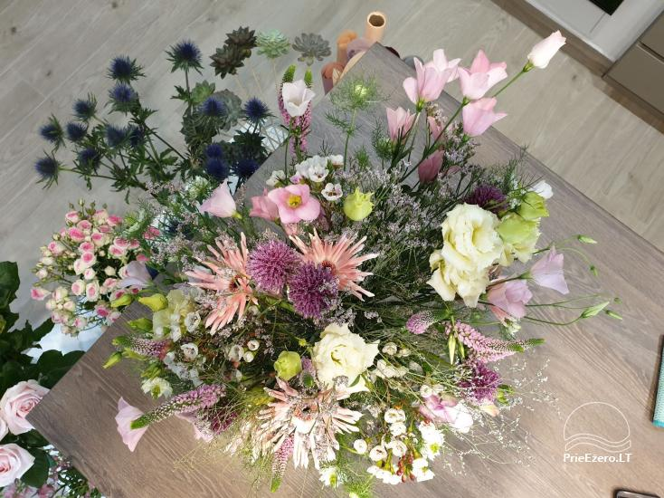 """Gėlės, floristika, dekoras Druskininkuose """"Edenas"""" - 4"""