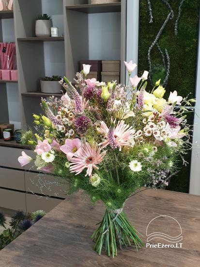 """Gėlės, floristika, dekoras Druskininkuose """"Edenas"""" - 6"""