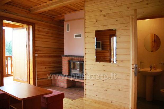 18 vietų ir 40 vietų salės nuoma, pirtis ant ežero kranto Aukštadvaryje Antano Bielinio sodyboje - 18