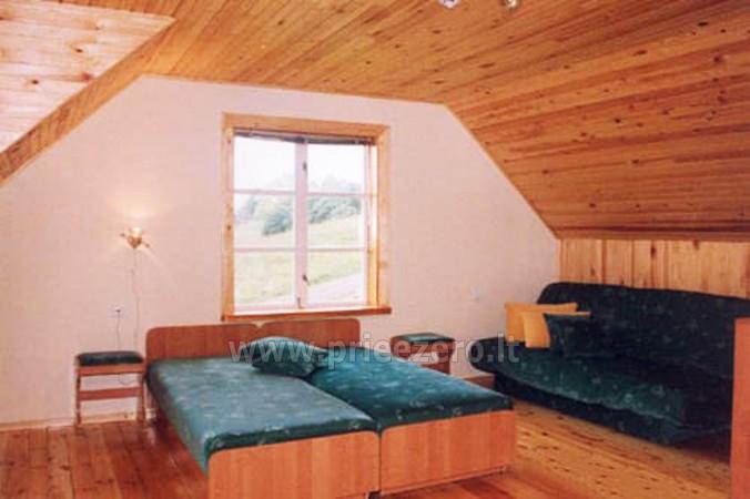 18 vietų ir 40 vietų salės nuoma, pirtis ant ežero kranto Aukštadvaryje Antano Bielinio sodyboje - 19