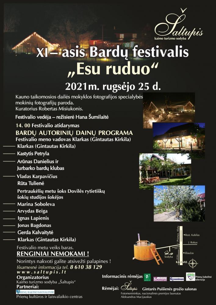 """Bardų festivalis – Esu ruduo. Sodyboje """"Šaltupis"""" - 1"""