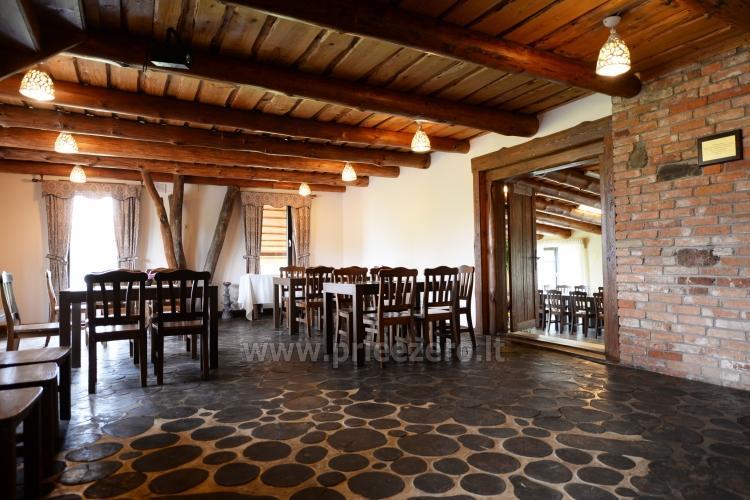 Kavinė - baras Įlankos sodyboje: banketai, konferencijos, seminarai - 3