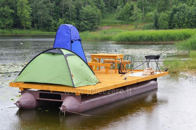 Pramogos Įlankos sodyboje: pirtys, pramoginis keltas, valtys, vandens dviračiai, paplūdimys... - 8
