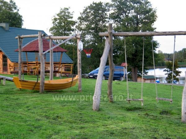 Pramogos Įlankos sodyboje: pirtys, pramoginis keltas, valtys, vandens dviračiai, paplūdimys... - 12