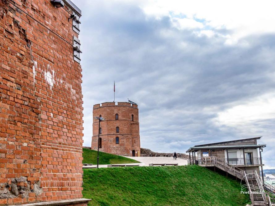Gedimino pilis ir pilies bokštas - 1