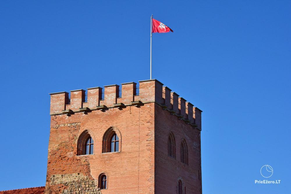 Apžvalgos aikštelė pilies bokšte