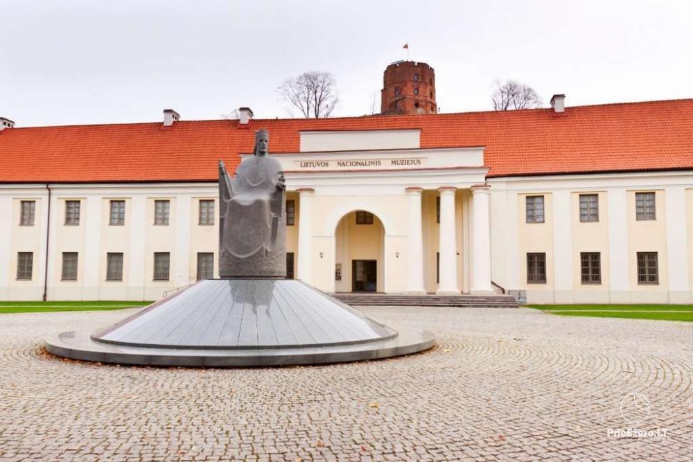 Lietuvos nacionalinis muziejus Vilniuje - didžiausias ir vienas seniausių šalyje Lietuvos kultūros paveldo muziejus - 2