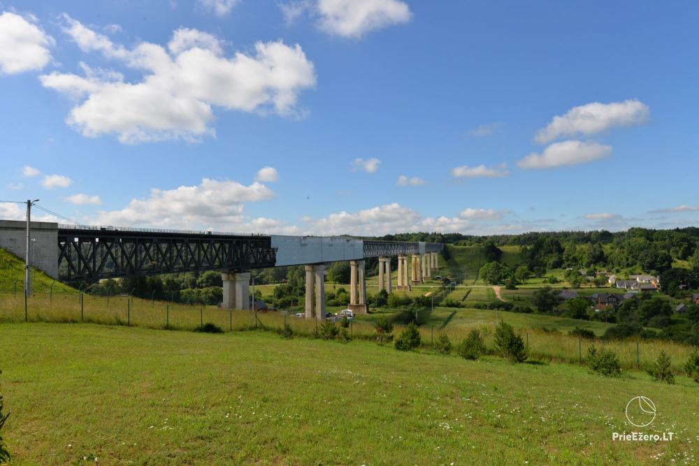 Lyduvėnų tiltas – ilgiausias ir aukščiausias tiltas Lietuvoje - 3