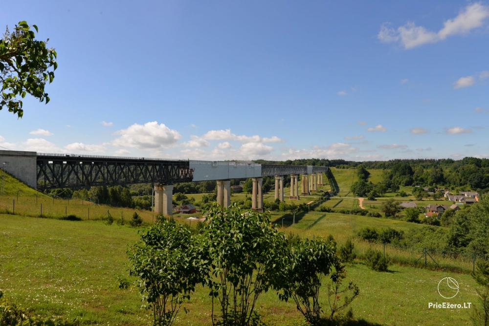 Lyduvėnų tiltas – ilgiausias ir aukščiausias tiltas Lietuvoje - 4