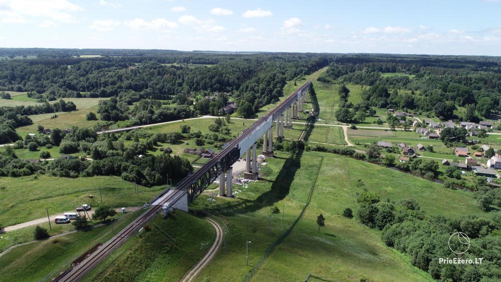 Lyduvėnų tiltas – ilgiausias ir aukščiausias tiltas Lietuvoje - 5
