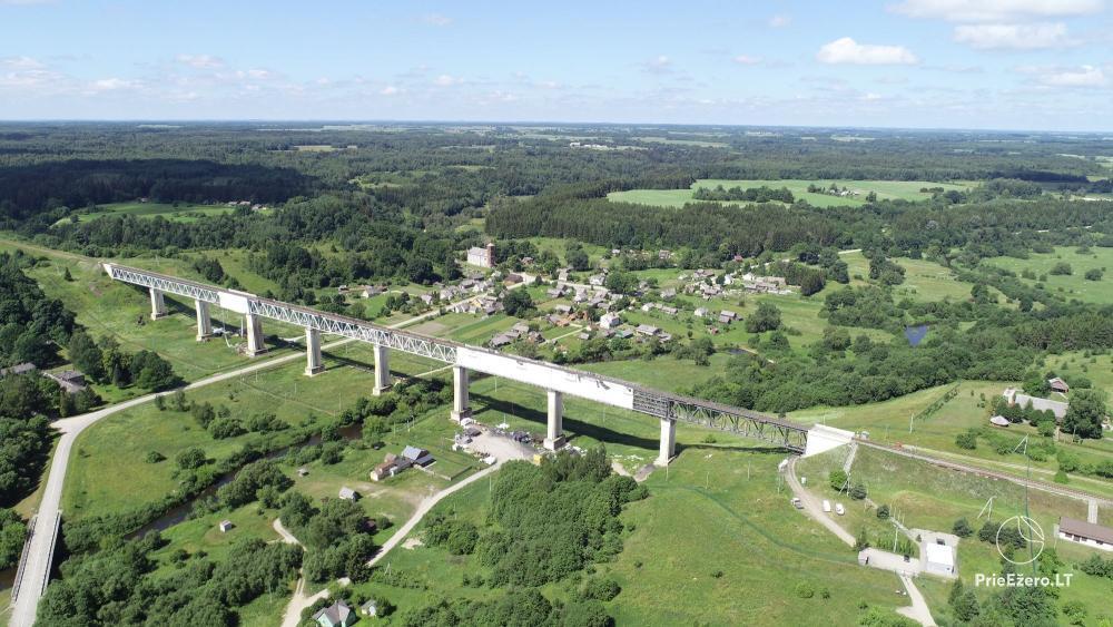 Lyduvėnų tiltas – ilgiausias ir aukščiausias tiltas Lietuvoje - 1