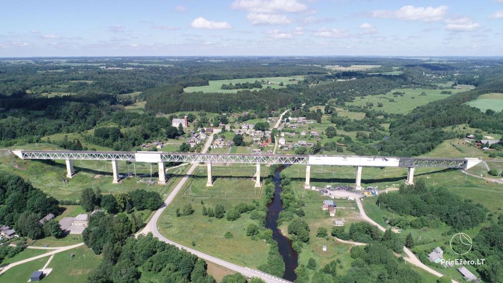 Lyduvėnų tiltas – ilgiausias ir aukščiausias tiltas Lietuvoje - 2
