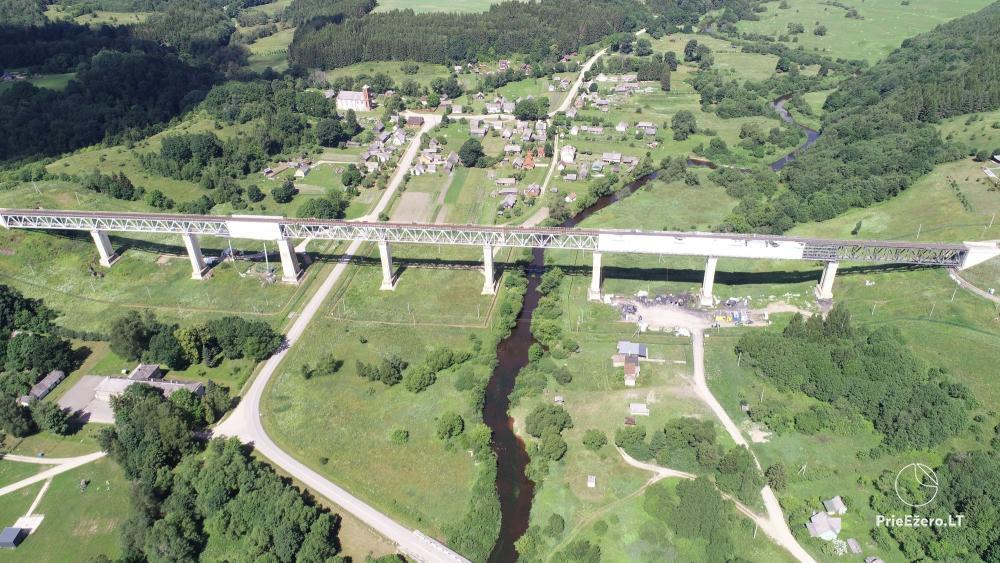 Lyduvėnų tiltas – ilgiausias ir aukščiausias tiltas Lietuvoje - 6
