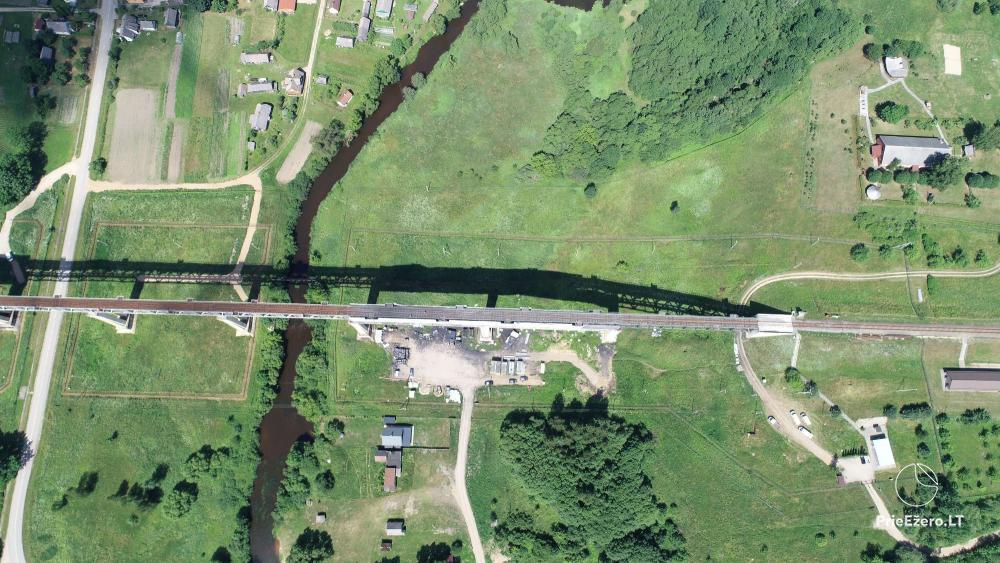 Lyduvėnų tiltas – ilgiausias ir aukščiausias tiltas Lietuvoje - 19