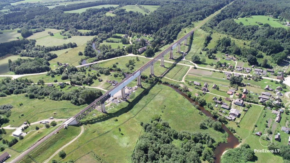 Lyduvėnų tiltas – ilgiausias ir aukščiausias tiltas Lietuvoje - 20