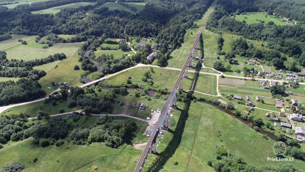 Lyduvėnų tiltas – ilgiausias ir aukščiausias tiltas Lietuvoje - 7