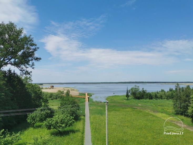 Žuvinto ežero gamtos takas ir apžvalgos aikštelė. Lankytojų centras - 11
