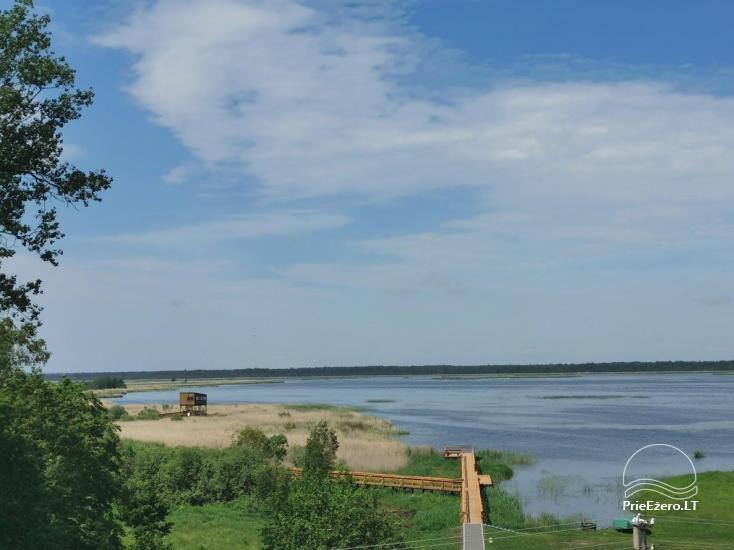 Žuvinto ežero gamtos takas ir apžvalgos aikštelė. Lankytojų centras - 1