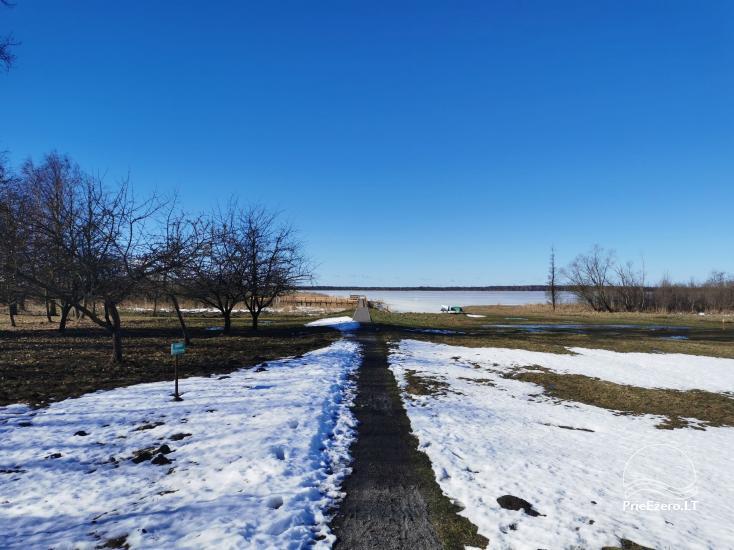Žuvinto ežero gamtos takas ir apžvalgos aikštelė. Lankytojų centras - 14