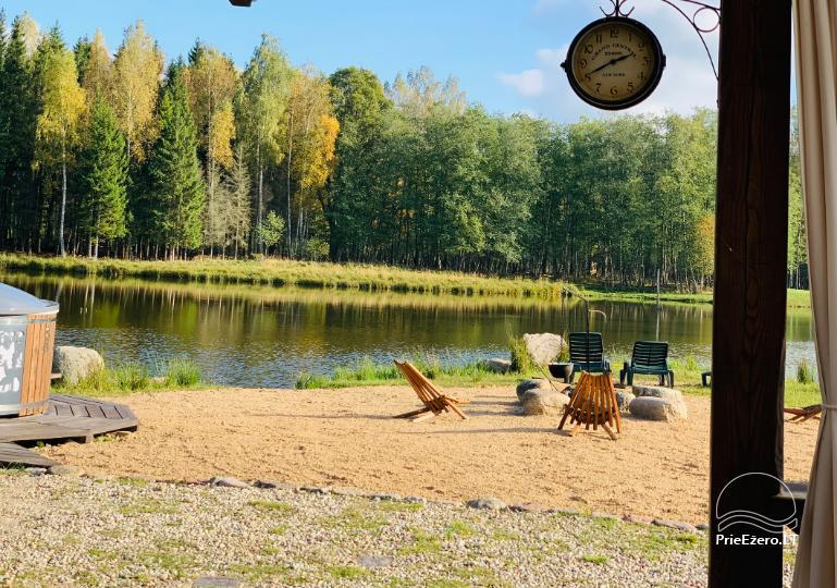 Auksinio elnio slėnis - Pirties namelis, kubilas, kempingas - 6