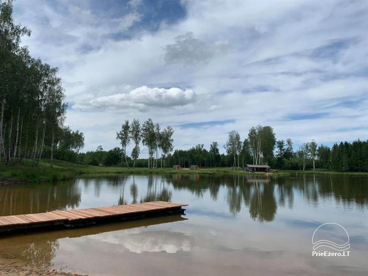 Auksinio elnio slėnis - Pirties namelis, kubilas, kempingas - 4