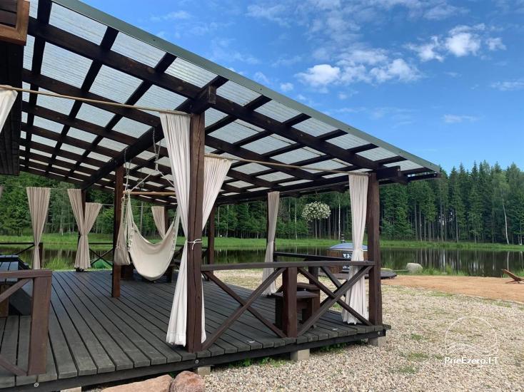 Auksinio elnio slėnis - Pirties namelis, kubilas, kempingas - 14