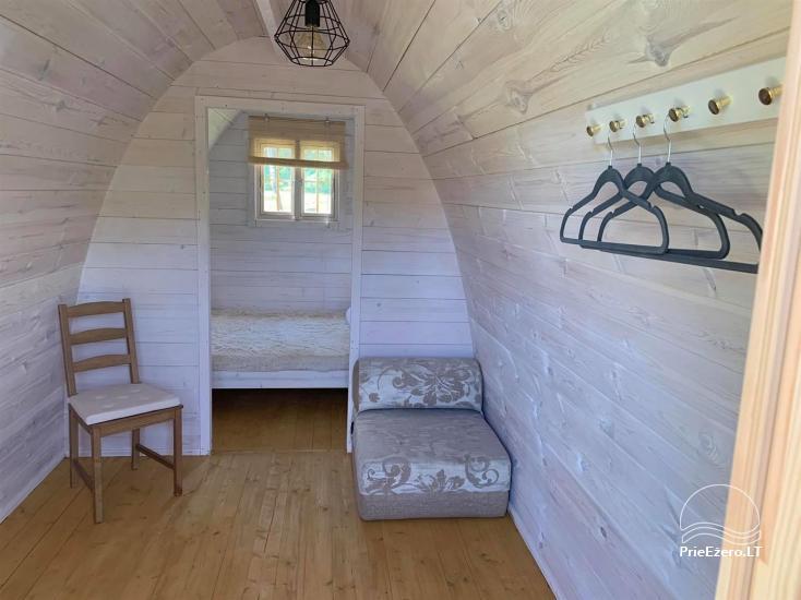 Auksinio elnio slėnis - Pirties namelis, kubilas, kempingas - 18