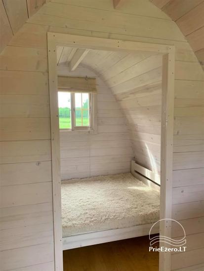 Auksinio elnio slėnis - Pirties namelis, kubilas, kempingas - 19