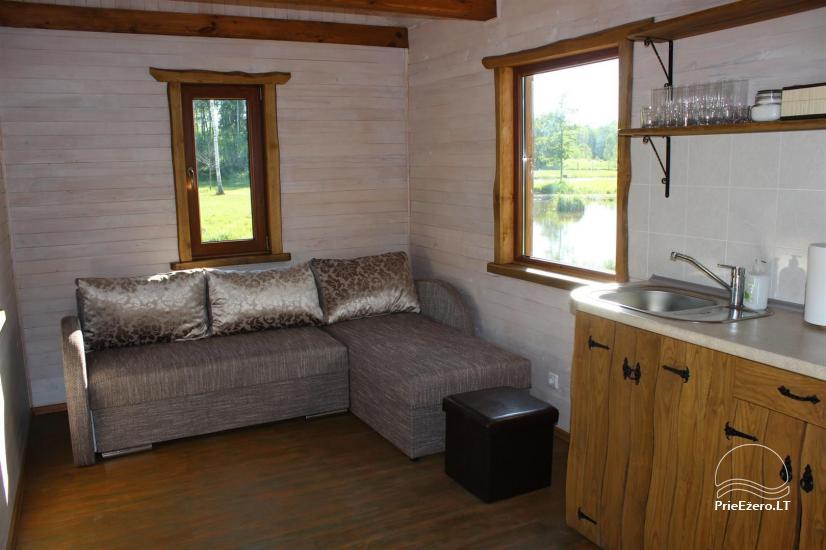 Auksinio elnio slėnis - Pirties namelis, kubilas, kempingas - 2