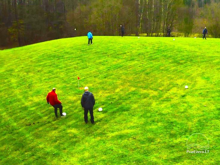Montebolas –  naujas sportinis žaidimas sodyboje Pagriaumėlė - 1