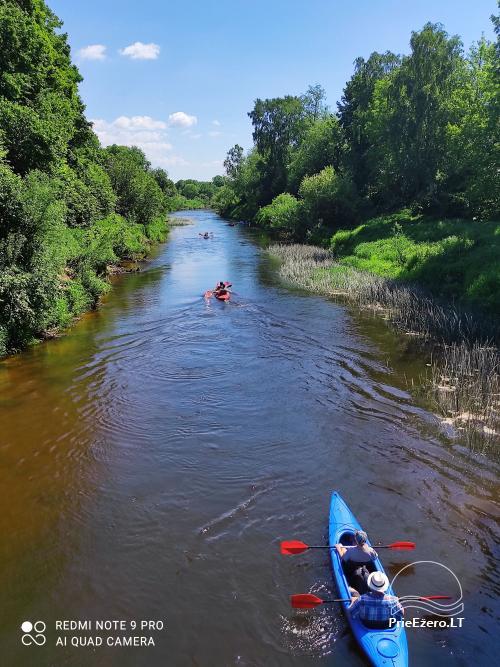 Baidarių, irklenčių, žvejybinės valties nuoma Šilutės rajone - 3