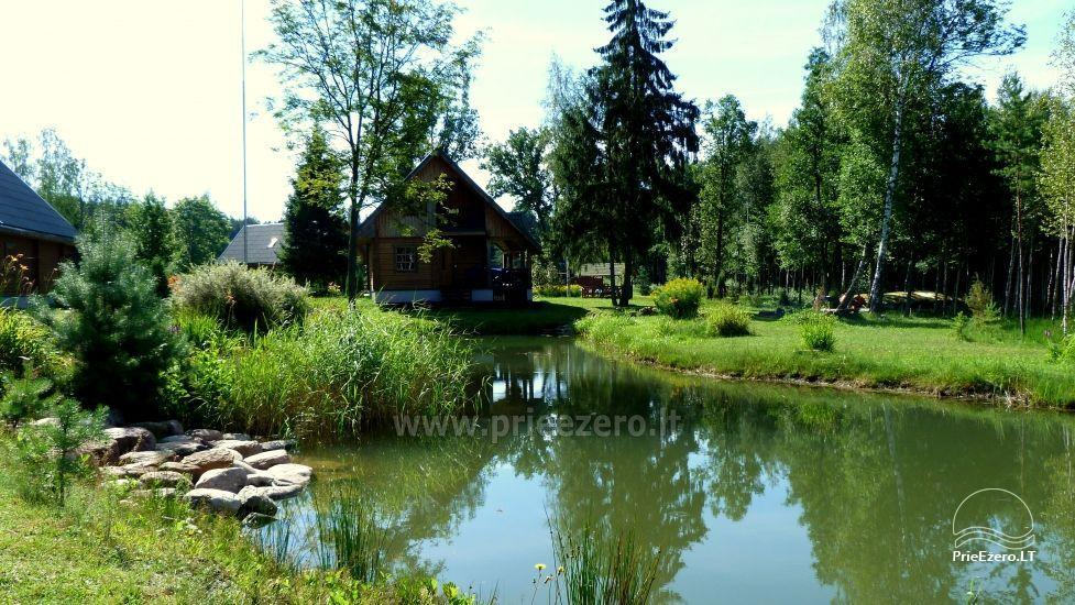 Baidarės, žvejyba - aktyvus poilsis sodyboje Stirnelės viensėdis - 13