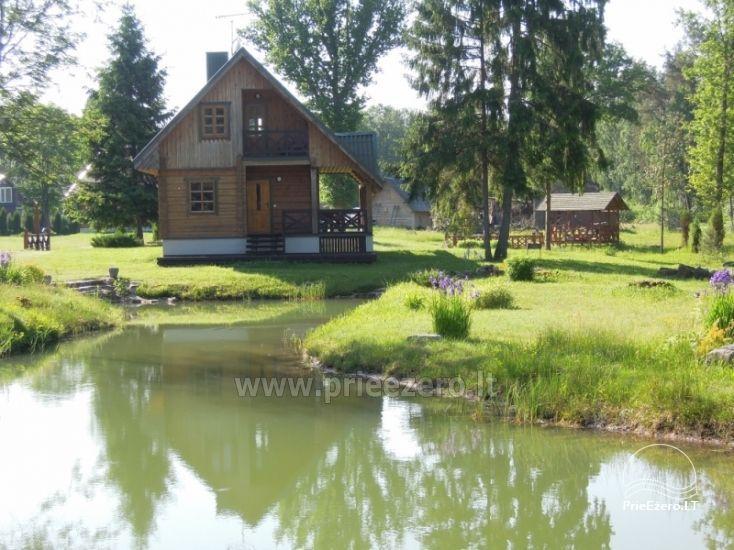 Baidarės, žvejyba - aktyvus poilsis sodyboje Stirnelės viensėdis - 6